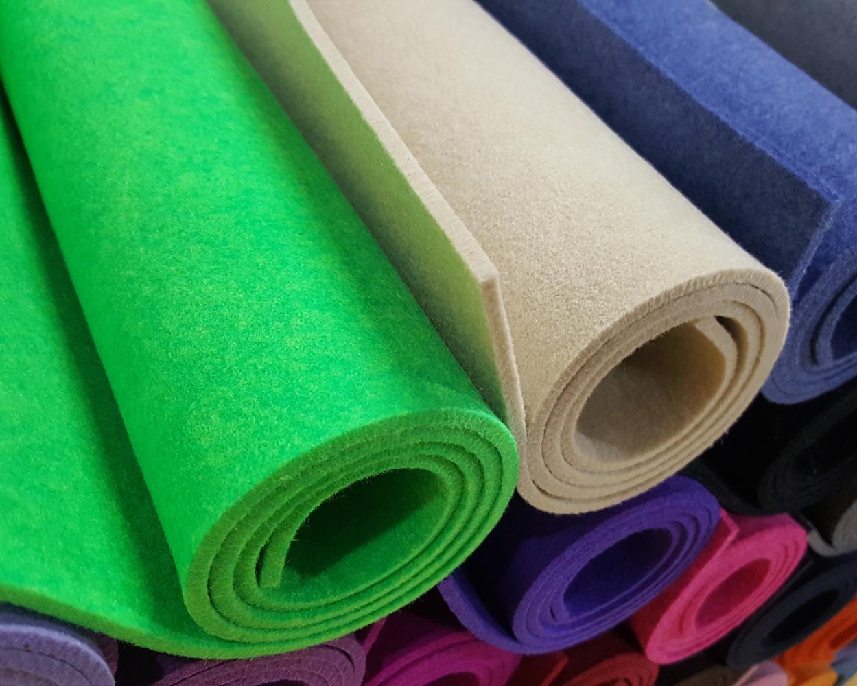 تنوع رنگی در پارچه ملانژ